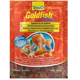Корм для рыб Tetra Goldfish Colour хлопья пакет 12г