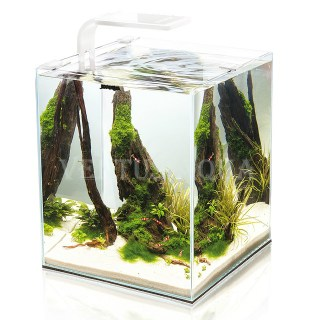 Aквариум SHRIMP SET SMART LED PLANT ll 10 /белый/10 л,(Aquael)
